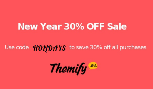 Themify Christmas Offer 2016 : 30% OFF on WordPress Themes