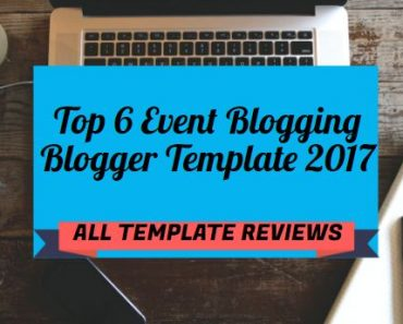 EVENT BLOGGING BLOGGER TEMPLATE
