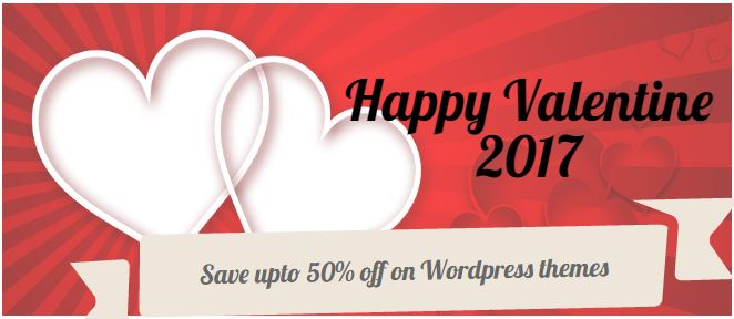 Best WordPress Valentine Deals 2018
