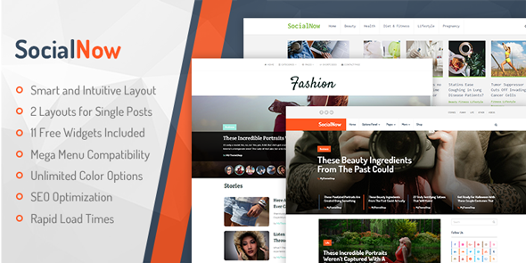 MyThemeShop SocialNow Theme Review – Magazine WordPress Theme