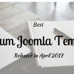 Best Premium Joomla Templates Released In April 2017