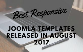 10 Best Responsive Joomla Templates Released in August 2017