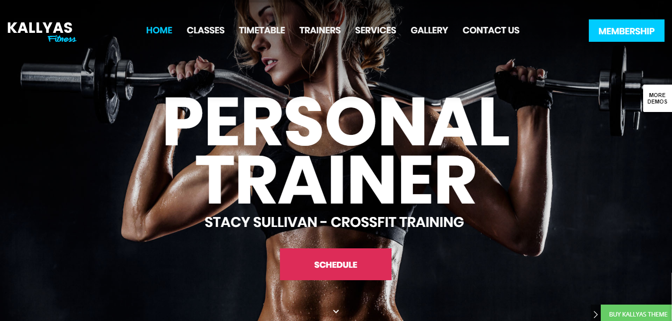 Vertigo – Fitness Gym Demo – Just another Kallyas Demo Sites site, Wordpress themes