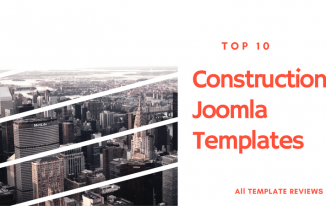 Top 10 Construction Joomla Templates