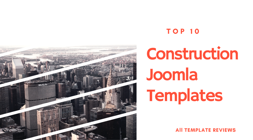 Construction Joomla Templates