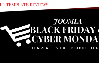 Best Black Friday Joomla Template Deals & Cyber Monday 2017