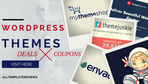 WordPress Themes Deals, Coupons & Discounts