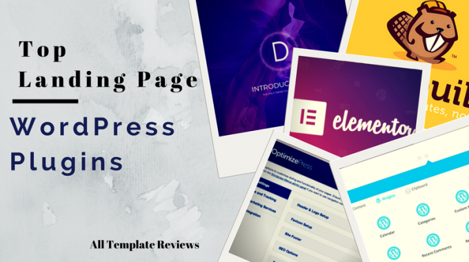 Top Landing Page WordPress Plugins for 2018