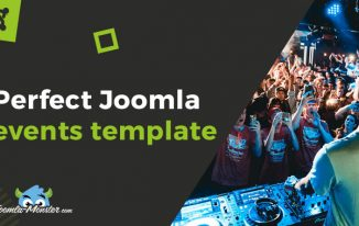 JM Events Agency Joomla Event Template
