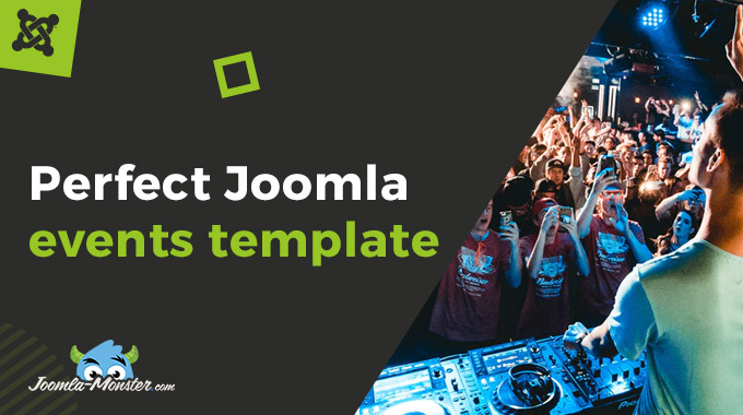 Joomla event Template