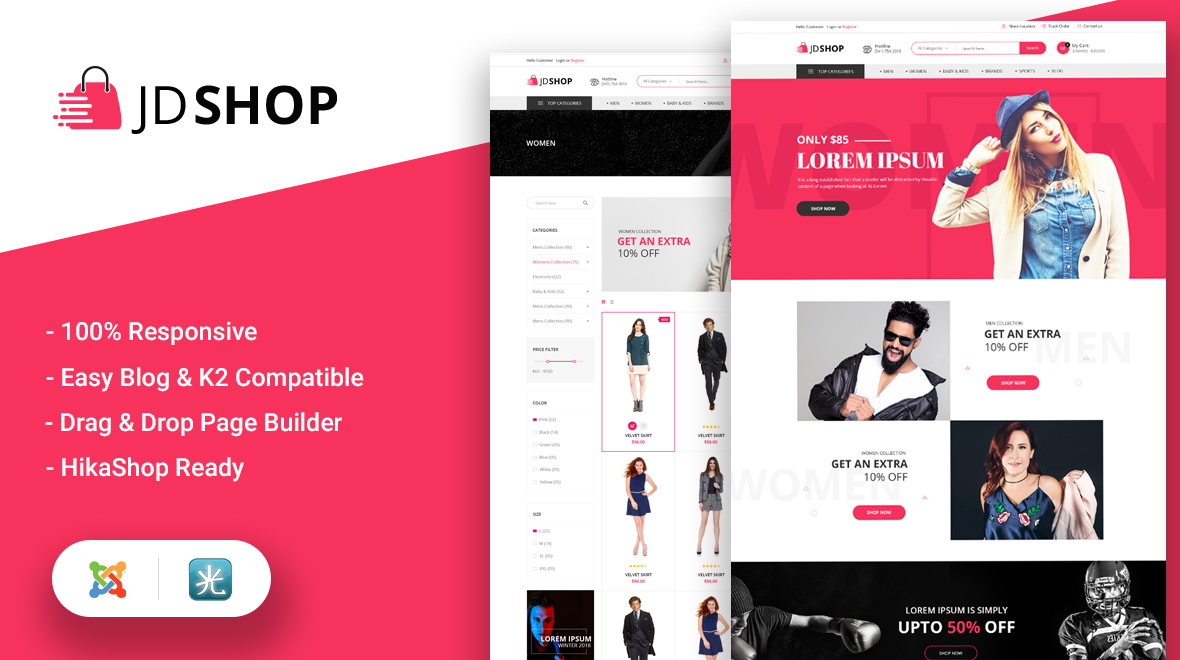 It Is A Fully Responsive And Retina Ready Joomla Template Its Features Are Way Beyond Your Imagination