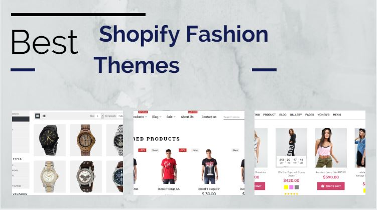 Best Shopify Fashion Themes to Build your Online Store
